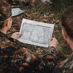 nauka nawigacji podczas zajęć integracyjnych