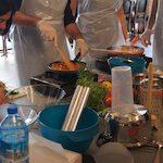 warsztaty gotowania na wyjeździe integracyjnym
