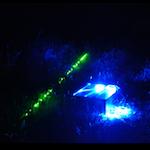 wieczorna gra terenowa z laserami
