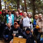 uczestnicy wyjazdu integracyjnego