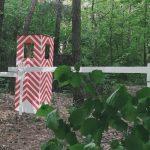 strażnica na polu paintball